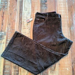 Tommy Hilfiger Woman Stretch Corduroy Pants NWT